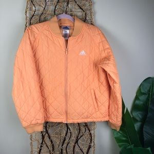 Adidas quilted jacket